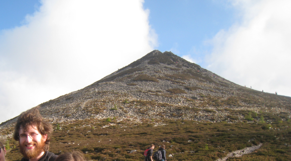 The Great Sugarloaf and me in 2014