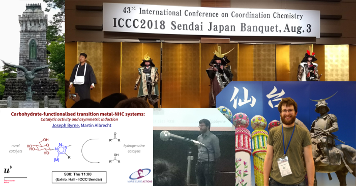 Pictures of me presenting at ICCC in Sendai